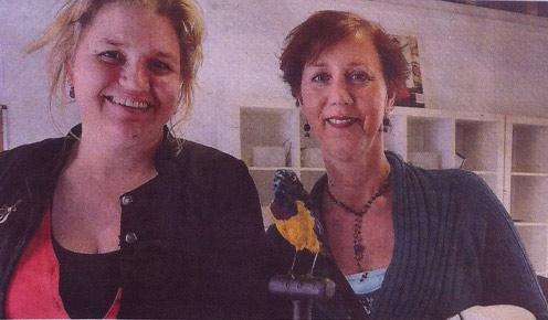 Goudsmit-Sati-Tegel-en-vriendin-en-collega-Christiane-Wevers
